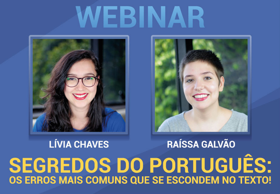 Webinar - Segredos do Português: os erros mais comuns que se escondem no texto