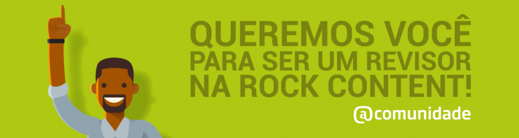 Um revisor freelancer na Plataforma Rock Content