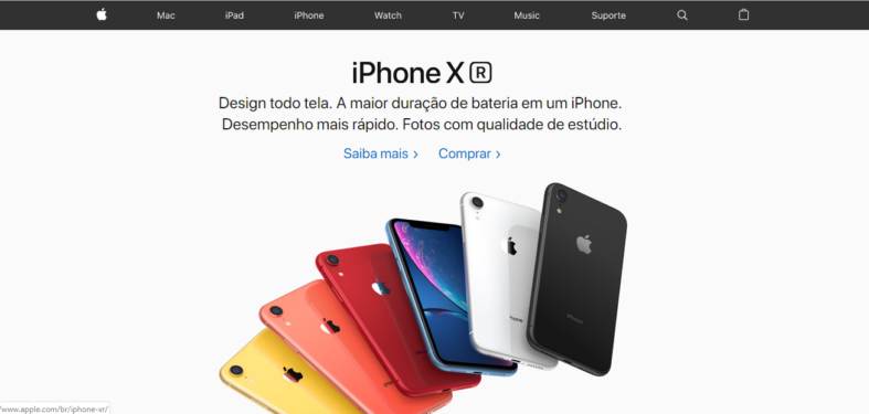 Exemplo de Copywriting - Apple