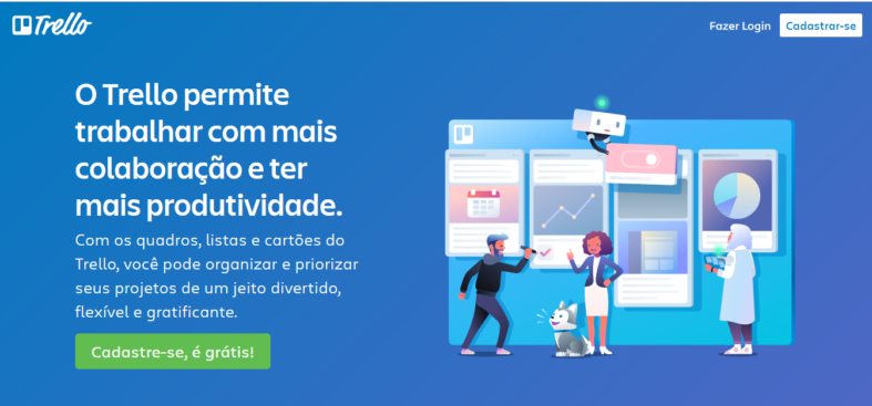 Exemplo de Copywriting - Trello